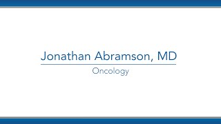Jonathan Abramson, MD video thumbnail