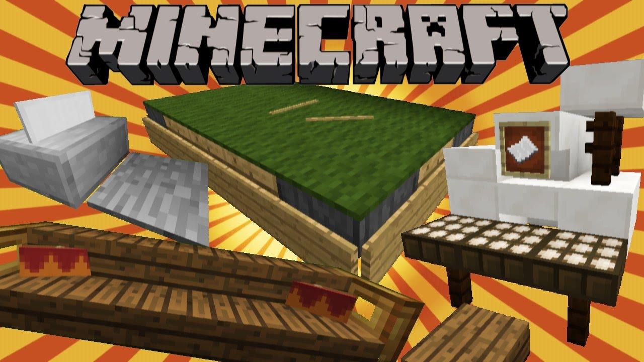 Minecraft Tipps Ideen Zu DekoEinrichtung YouTube - Minecraft haus inneneinrichtung ideen
