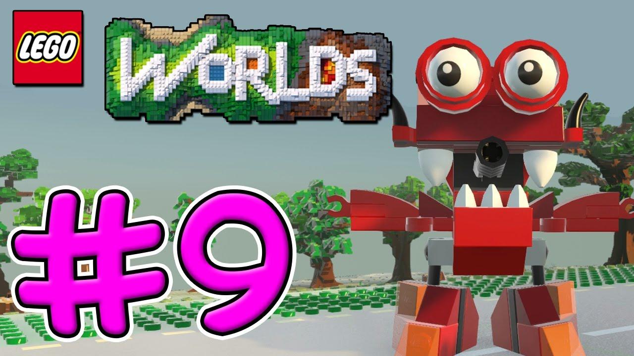 MY NEW FRIEND! LEGO Worlds Xbox One Gameplay - Episode 9 ...