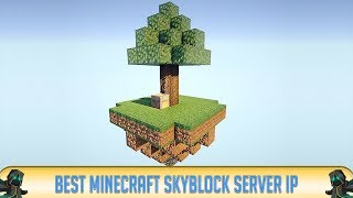 ✔ Minecraft: Best Skyblock Server of All Time