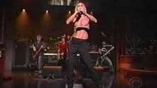 Iggy Pop & Sum 41 - Little Know It All (Live on Letterman)