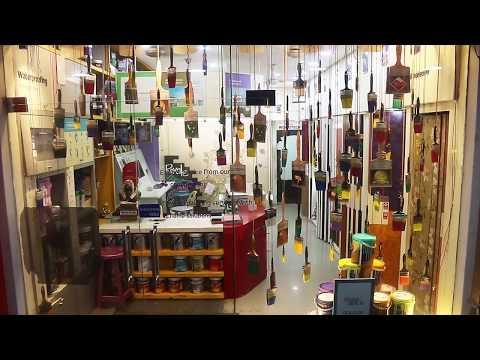 Asian paints display at Quality hardwares Chennai