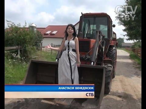 Белорусский новый трактор катман - YouTube