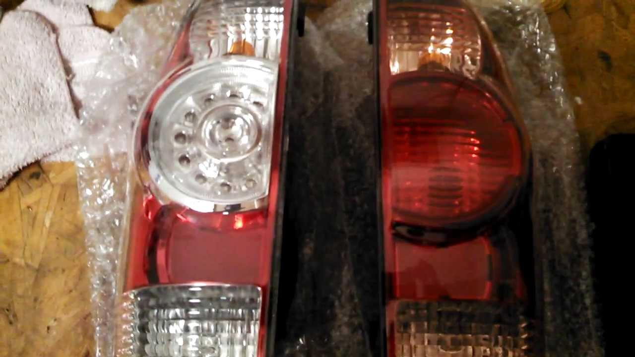 Toyota Tacoma OEM LED Tail Light Swap - YouTube