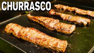 Churrasco Steak   Skirt Steak   Chimichurri   Blackstone Griddle