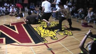 BBOY Accident @ Newport High School. (2011)