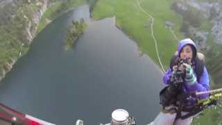Bungy Jumping Stockhorn Switzerland 134m-420Ft