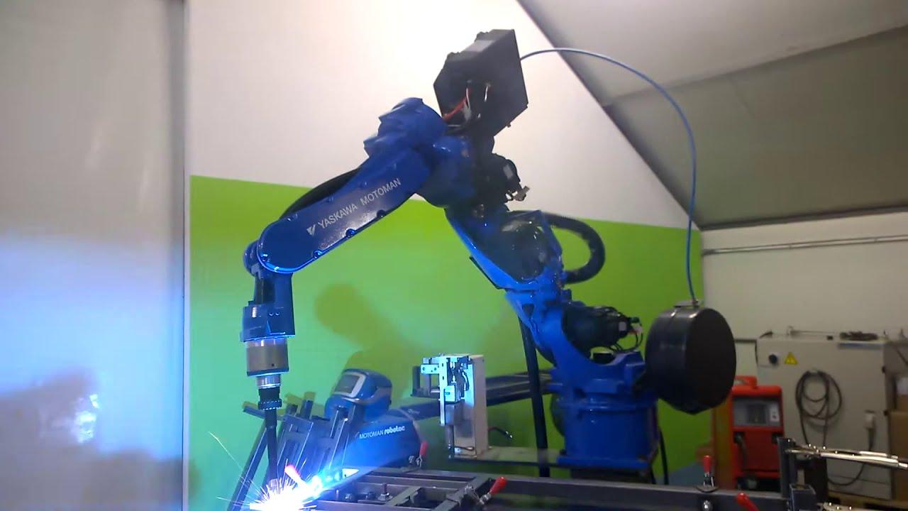 Wszystkie nowe MET-LAN Roboty spawalnicze - Spawanie robotem MOTOMAN VA1400 - YouTube XI78