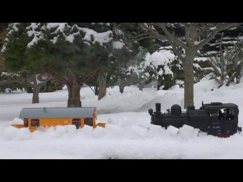 HSB-Schneepflugeinsatz Im Januar 2017