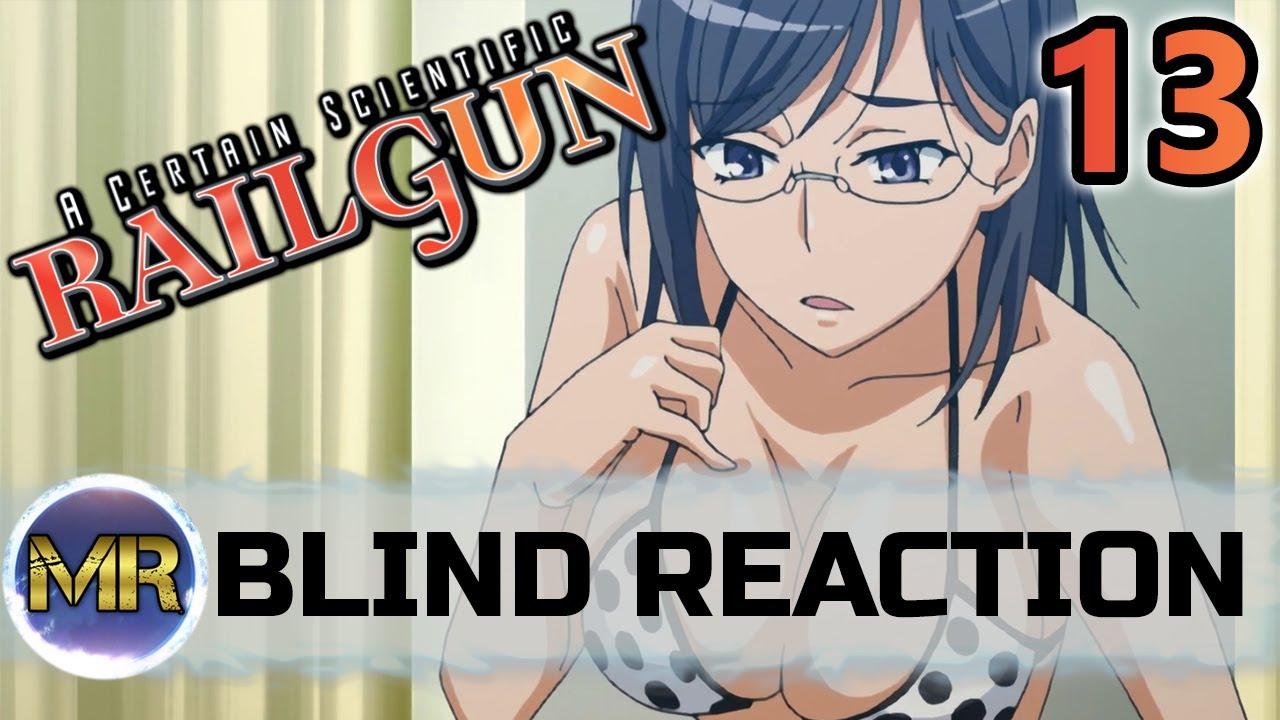 Download A Certain Scientific RAILGUN Episode 13 Blind Reaction - SWIMSUITS!