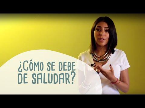 ¿Cómo se debe de saludar - Renata Roa