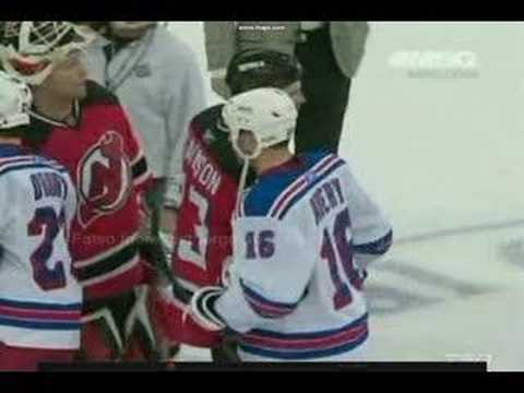 Nhl Avery And Brodeur No Handshake Youtube