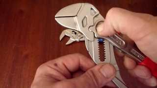 KNIPEX -   Клещи переставные-гаечные   ключи(ключи KNIPEX -Работа на хромированных деталях без повреждения и с гайками большого диаметра., 2011-05-22T15:56:31.000Z)
