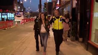 CRAZY DRUNK WOMEN GETS ARRESTED AFTER CLAIMING SHE WAS ATTACKED - WOW