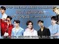 BOY VERSION | KPOP RANDOM DANCE CHALLENGE | 100 SONGS! | w/ mirrored DP (7k special)