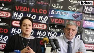 Հովհաննես Իգիթյան, Լարիսա Ալավերդյան