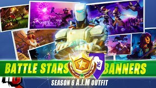 Fortnite | All 7 Secret Battle Stars & Banners to Unlock Hunting Party Skin (Season 6)