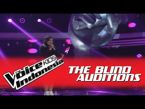 """Angel """"No One"""" I The Blind Auditions I The Voice Kids Indonesia GlobalTV 2016"""