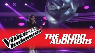 "Angel ""No One"" I The Blind Auditions I The Voice Kids Indonesia GlobalTV 2016"