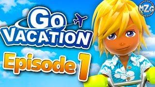 Go Vacation Gameplay Walkthrough - Episode 1 - Kawawii Island! (Nintendo Switch)