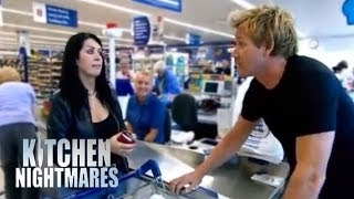 Restaurant Owner Buys Food from Supermarket - Kitchen Nightmares thumbnail
