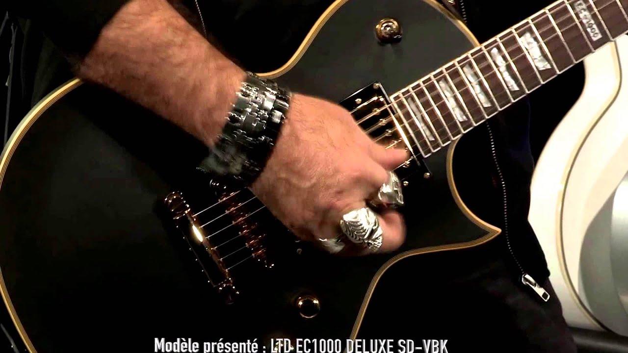 watch menguji sound guitar ltd ec1000 deluxe youtube for musicians