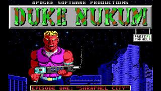 "Longplay: Duke Nukem - Episode 1: ""Shrapnel City"" (1991) [MS-DOS]"