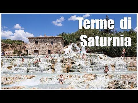 Италия: Тоскана, Terme di Saturnia | Italy: Toskana, Terme di Saturnia