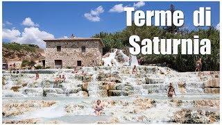 Италия: Тоскана, термы Сатурнии  |  Italy: Toskana, Terme di Saturnia