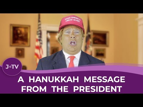 A Hanukkah Message from the President of the United States