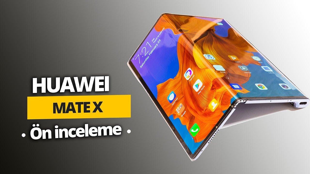 Flot Huawei Mate X ön inceleme: En ince katlanabilir telefon! - YouTube VJ-87