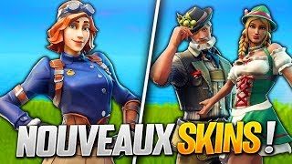 PRICE AND PRESENTATION OF THE PROCHAINS SKIN OF FORTNITE SAISON 6! (Fortnite Battle Royale)
