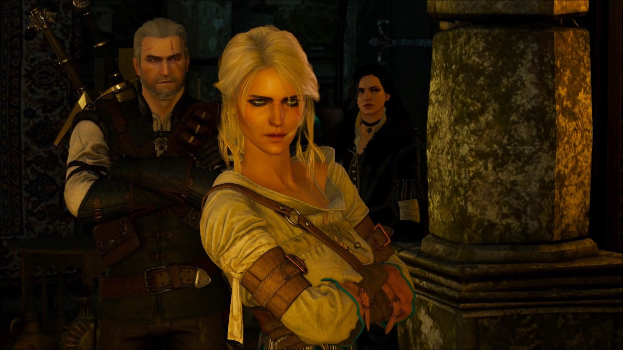 The Witcher 3 - Geralt & Ciri destroy Avallac'h's Lab