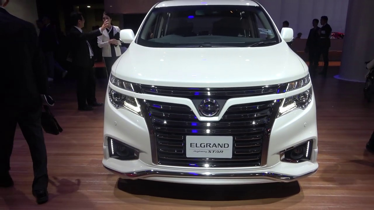 Nissan Elgrand 2020 Show Room Japan Youtube