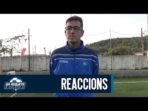 Reaccions post-partit de Jesús Pascual (Rtvº La Victoria) | Sa Roqueta Balear
