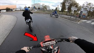 WE SHOULDN'T BE ON THE ROADS! (CRF450 POV)