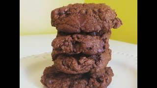 Quadruple Chocolate Pudding Cookies- Recipe
