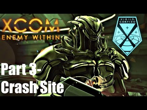 XCOM: Enemy Within  - Ironman Impossible S2#3 Bleeding Skull ; Crash site