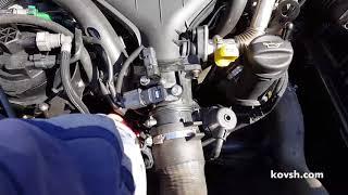 Причина плавания оборотов на Fiat Scudo 2.0d RHW — клапан производительности VCV (ТА Continental)