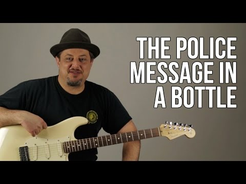 The Police - Message In A Bottle Guitar Lesson - How To Play On Guitar - Chords Riff