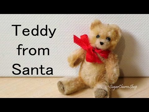 Easy, Cute Miniature Teddy Bear - Polymer Clay Tutorial