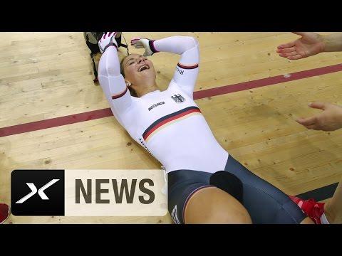 Kristina Vogel ohne Sattel hauchdünn zu Gold!   Rio 2016