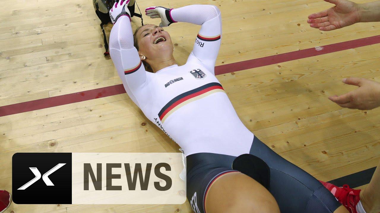 Kristina Vogel ohne Sattel hauchdünn zu Gold! | Rio 2016