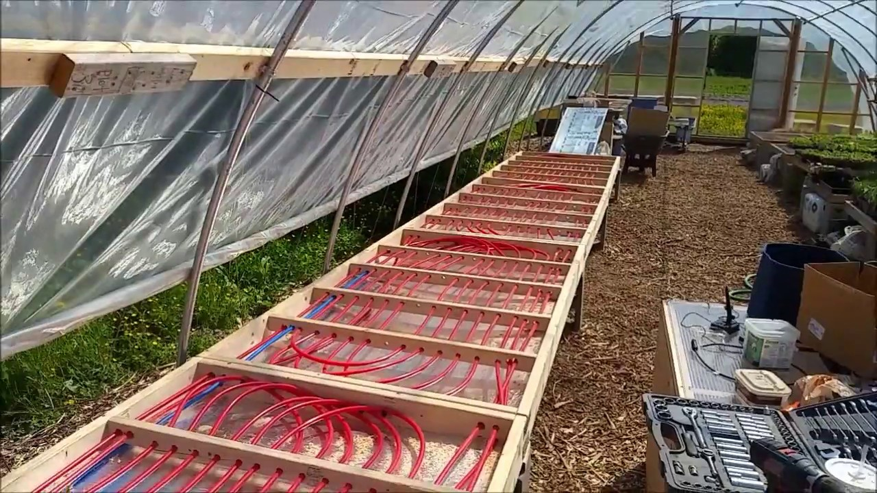 Remote Hydro Radiant Heating System For Sage Farm Youtube