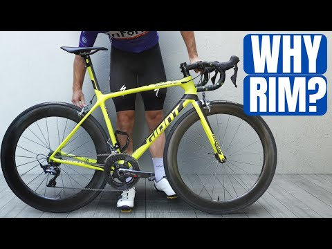 Why I Keep Buying RIM BRAKE Bikes (My Giant TCR & BMC Teammachine)
