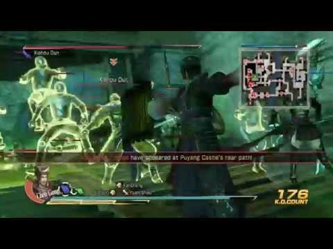 Dynasty Warriors 8: XL CE - Battle of Puyang - Lu Bu's Forces | Ultimate Co-op