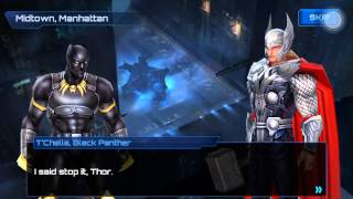 Marvel Future Fight Mission Library: Tutorial Records