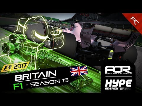 F1 2017 | AOR Hype Energy F1 League | PC | S15 | R6: British GP