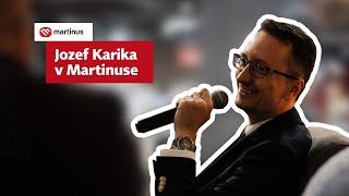 Jozef Karika predstavil v Martinuse knihu Čierny kruh: Koniec mafie