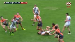 Round 16 AFL Highlights - GWS v Collingwood